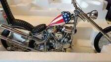 ULTIMATE CHOPPER EASY RIDER 1:10 SCALE, FRANKLIN MINT, STILL IN PACKAGE, FREE...
