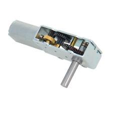 1Pcs DC 6/12V Worm Gear Electric Motor 4-52RPM Torque GW180 Single 6mm Dia Shaft