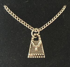 Handbag Pendant Necklace