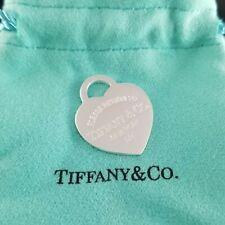 """Return to Tiffany & Co. Silver Large Heart Tag Pendant ONLY 1"""""""