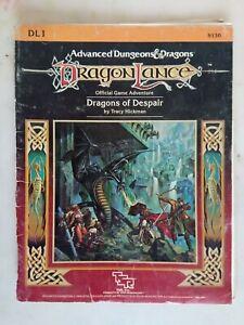 Dragons of despair - Dragonlance - Advanced Dungeons & Dragons AD&D - TSR - RPG
