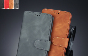 For OnePlus 6T 7T Pro 8 8 Pro 8T Nord 9 9 Pro Leather Magnetic Flip Case cover