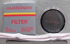 Quantaray 52mm P.L Filter Lens & Case, Box & Manual