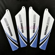S107-02 Blue Main Blade 2A+2B Wing For Syma S107G RC 3CH Gyro Helicopter Parts