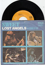 "THE SWEET LOST ANGELS / FUNK IT UP RARE RECORD YUGOSLAVIA 7"" PS 45rpm"