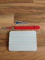 Vinyl Application DIY Tool Kit - Squeegee & Scalpel - Signs Decals Fitting Set