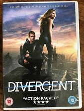 Shailene Woodley Kate Winslet DIVERGENT ~ 2014 Teen Sci-Fi Film | UK DVD