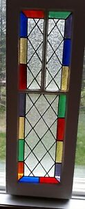 Stained glass/old window frame
