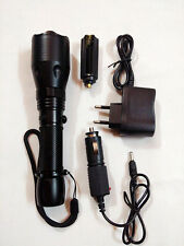 POWER STYLE RECHARGEABLE LED TORCH 800 METER COVER (WATERPROOF)