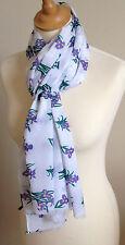NEUF 100% coton Femmes IRIS imprimé floral écharpe par Juniper