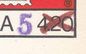 POLAND 1982 MINT  Postcard Cp#781B t.I c -  WIPA 1981, ov.pr. 5PLN - u.