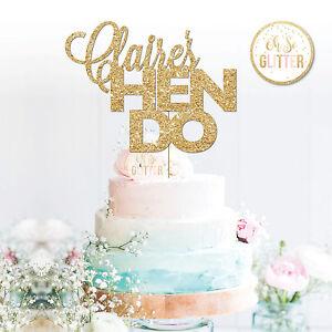 Custom HEN PARTY Cake Topper,HEN Topper, Custom Personalised Cake Topper, Hen do