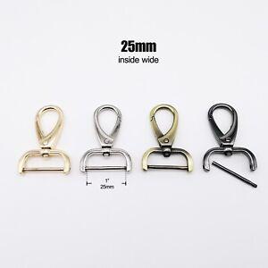 1pc Detachable Lobster Swivel Bag Handbag Shoulder Strap Belt Clasp Clip Trigger