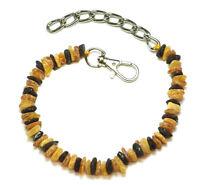 Bernsteinkette für Hund&Katze - Echter Bernstein/Amber -  ca:23-30 cm.