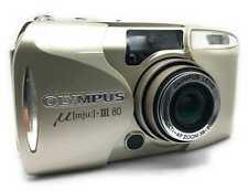 Olympus µ [mju] - III 80 Kompaktkamera Camera Stylus Epic 80 DLX Rarität Gold 3