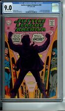 JUSTICE LEAGUE OF AMERICA #65 CGC 9.0 OWW JSA story 2nd app. of S.A. RED TORNADO