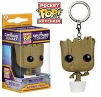 Funko Pop! Guardians Of The Galaxy Dancing Baby Groot Figure Pocket Keychain