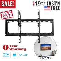 LCD LED Plasma Tilt TV Wall Mount Bracket 37 40 42 46 47 50 52 55 60 65 70 Inch