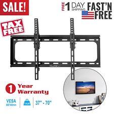 LCD LED Plasma Flat Tilt TV Wall Mount Bracket 26 32 37 42 46 50 52 55