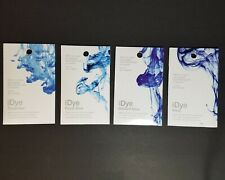 8 iDye Shades of Blue Packets Natural Fabrics New Sealed 14g Colors in Descript