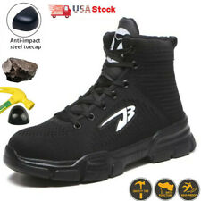 Mens Sneakers Work Boots Indestructible Hiking boots Steel Toe Safety Shoes