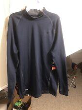 Starter Mens Gray Compression Shirt Long Sleeve Performance Workout Size Xl