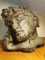 Apollon sculpture  Bronze C. Mary (  Germaine Richier )