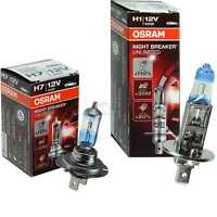 OSRAM NIGHT BREAKER UNLIMITED H1 H7 +110% SET Glühbirne Lampe 12V 55 W P14,5s