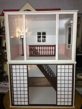 Doll house Room Box  Two Storey Villa C~ 1:6 Pullip Blythe Momoko Monster Barbie