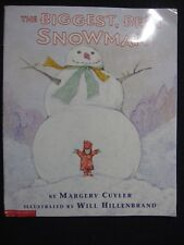 The Biggest, Best Snowman [Sep 01, 1999] Cuyler, Margery and Hillenbrand, Will