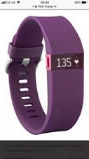 Fitbit Charge HR Heart Rate and Activity Wristband - Purple, Size Small Rrp £130