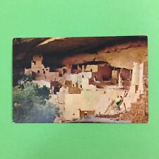 Cliff Palace Mesa Verde National Park Cliff Dwelling Unposted Postcard