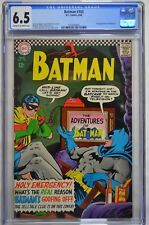 BATMAN #183 CGC 6.5 SECOND APP OF POISON IVY CARMINE INFANTINO COVER ART 1966
