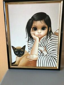 Margaret Walter Keane: Vintage, Ladies in Waiting on canvas