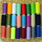 24 Colors Spools 200 Yards Sewing Thread Polyester Hand Sewing Machine Thread