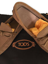 TOD'S – MEN'S GOMMINO SUEDE DRIVING SHOES – SIZE 6 – NEW $230