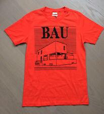 "PAUL SMITH Men's ""Haus"" T-Shirt , Bright Orange, BNWT Size M ($270 Retail)"