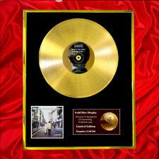 More details for oasis what's the story cd gold disc award display vinyl plated