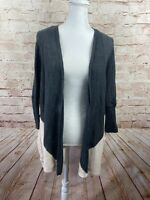Calia Carrie Underwood Gray Pink Colorblock Batwing Knit Cardigan Size Small