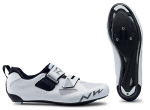 Northwave Tribute 2 Triathlon Bicycle Cycle Bike Shoes White
