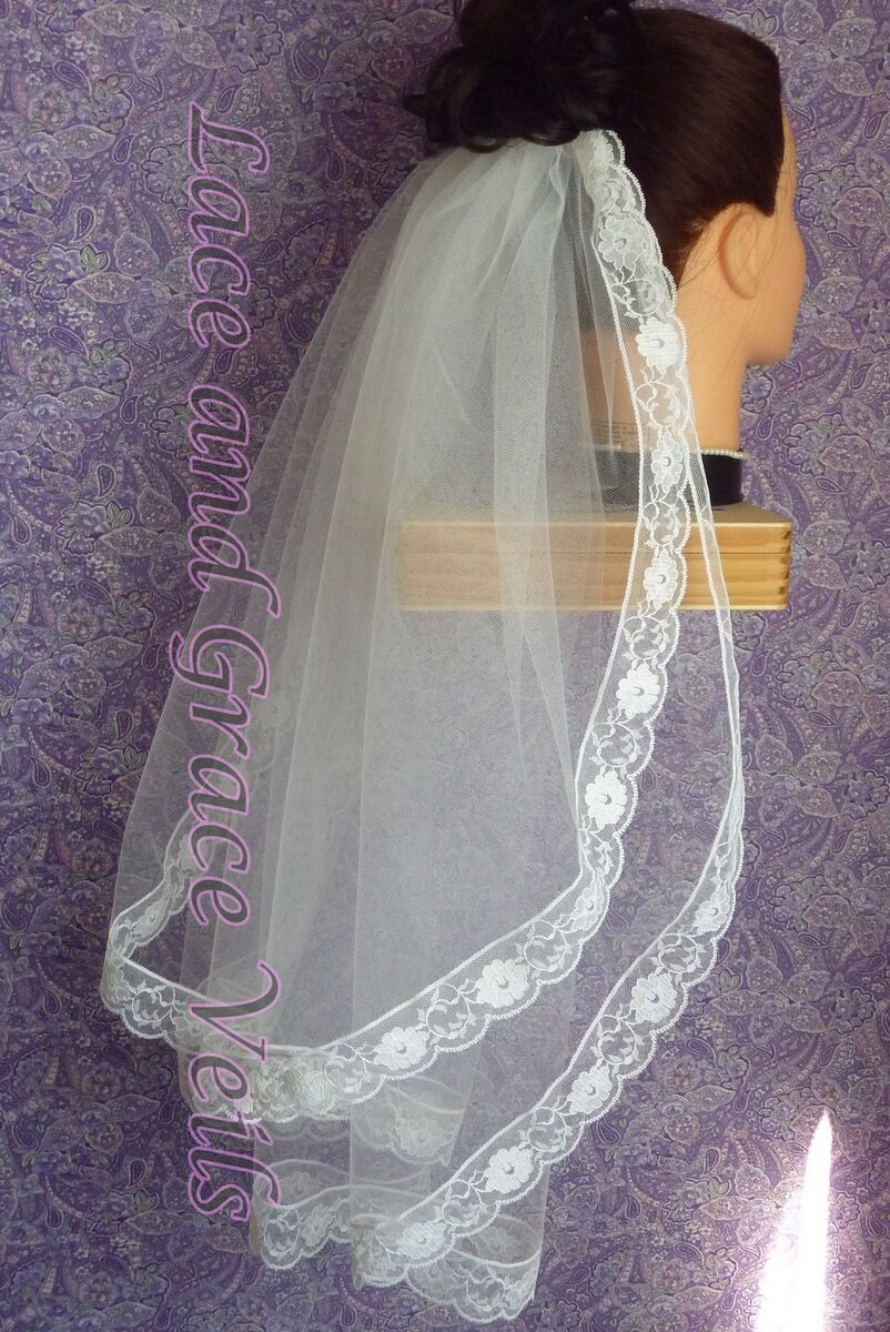 Lace and Grace Veils
