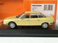 Minichamps 940 015400 NSU Ro 80 1967-1977 Yellow Gelb 1:43