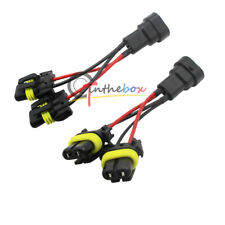 2x 9005/9006 High Beam Splitter Wires For Quad/Dual Projector Headlight Retrofit