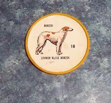 Humpty Dumpty Potato Chips Dogs # 18 Borzoi  yellow coin