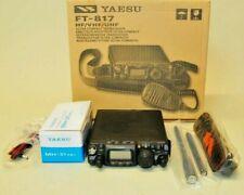 Yaesu FT-817 HF/VHF/UHF Compact QRP Transceiver Demo Unit Unused Condition