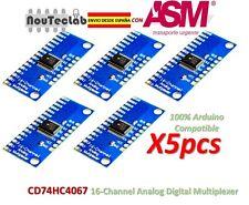 5pcs CD74HC4067 16-Channel Analog Digital Multiplexer Breakout Board