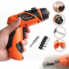 Portable 6V Screwdriver Electric Drill Battery Operated Cordless Wireless New