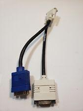 Dell X2026 DVI-I (Male) to DVI-D / VGA (Female) Y-Splitter Monitor Cable Adapter