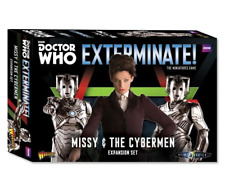 MISSY & THE CYBERMEN Exterminate! Expansion Warlord Games NEW and SEALED