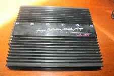 Proton CA 265 Amplifier Verstärker Subwafer 12 V Autoverstärker antik Auto